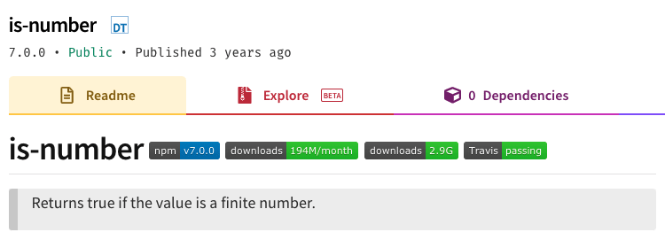 check if a number or not
