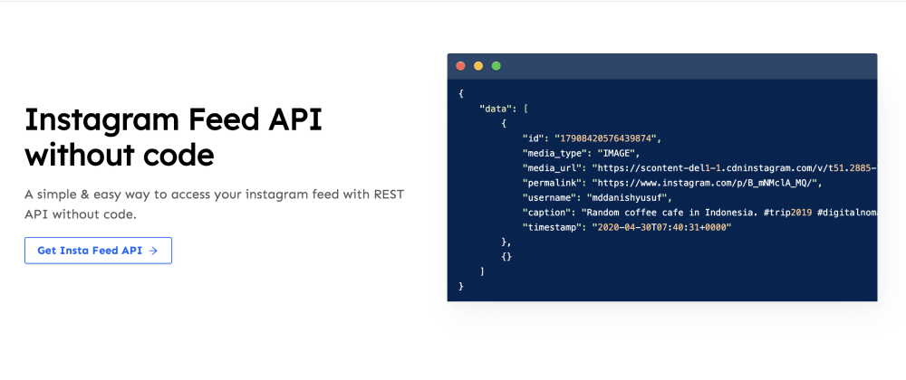 Cover image for Get Instagram Feed Data without Code