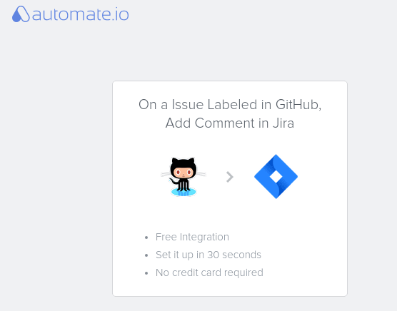 Github issue labels using Automate.io