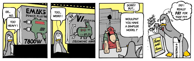 vim comic