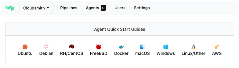 Buildkite agent supported OSes