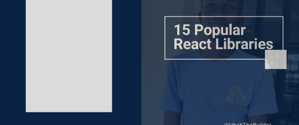 Cover image for 15+ Fantastic React UI Libraries to Consider for your Project