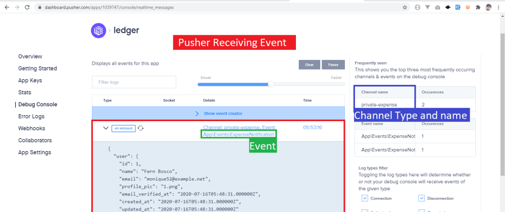 Cover image for Laravel Echo not listening Event from Pusher