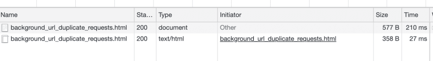 Using Chrome DevTools to find the initiator of duplicate HTML