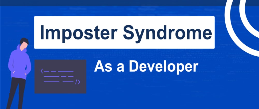 Cover image for Coping with Imposter Syndrome 🙏