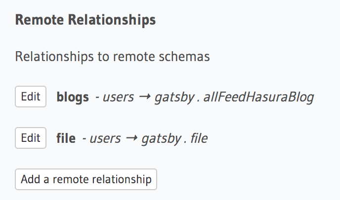 Remote Relationships