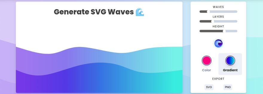 SVG Waves