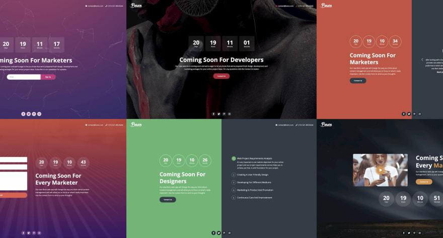 Bono HTML template