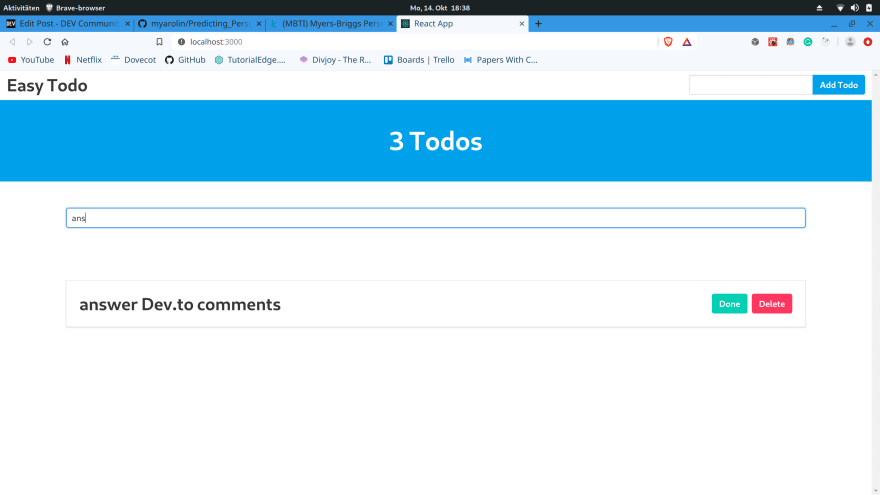 You can now filter through them