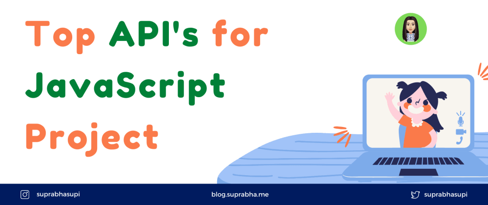 Cover image for Top API's for next JavaScript Project