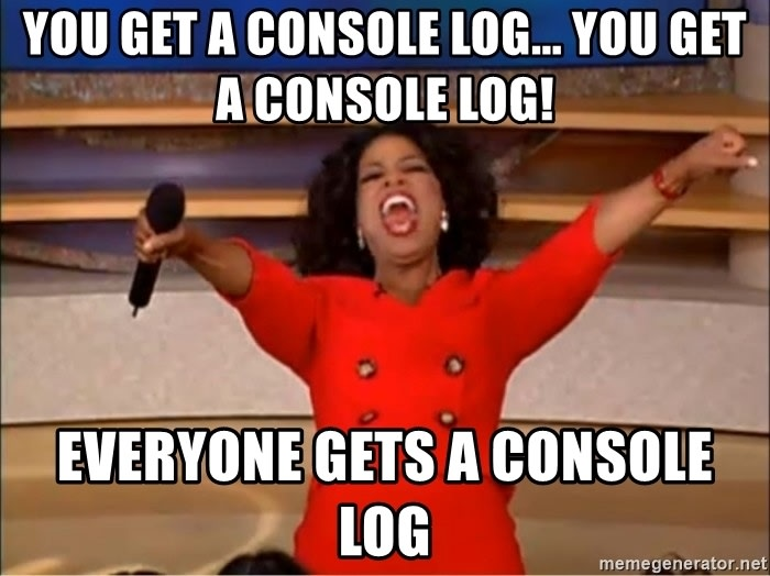console log all the ways