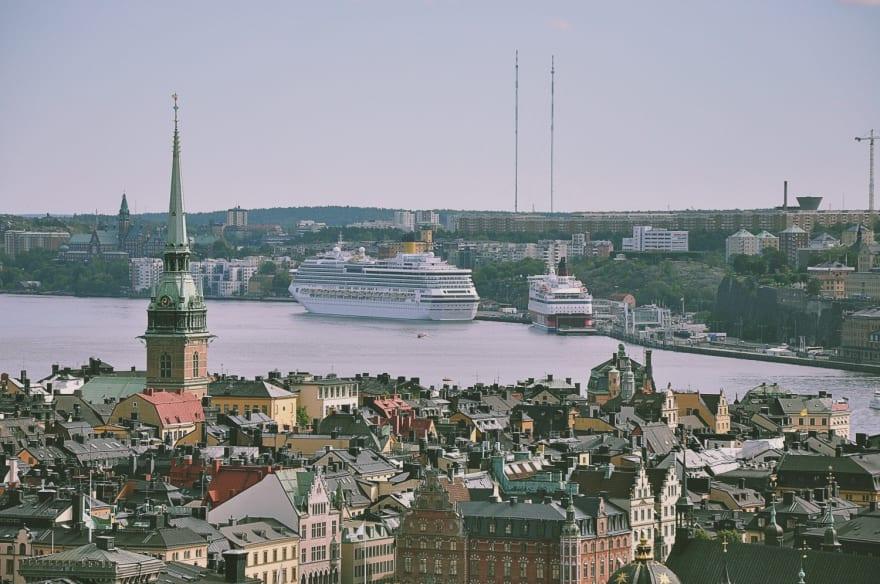 Stockholm, Sweden (credit Unsplash)