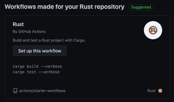 Workflow proposal