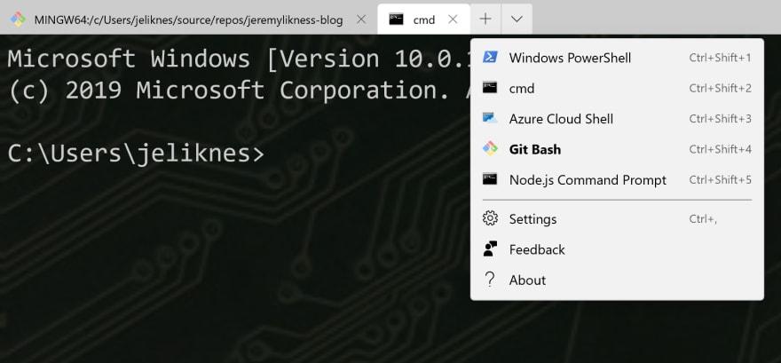 Custom Terminals and User Interface (UI) in Windows Terminal