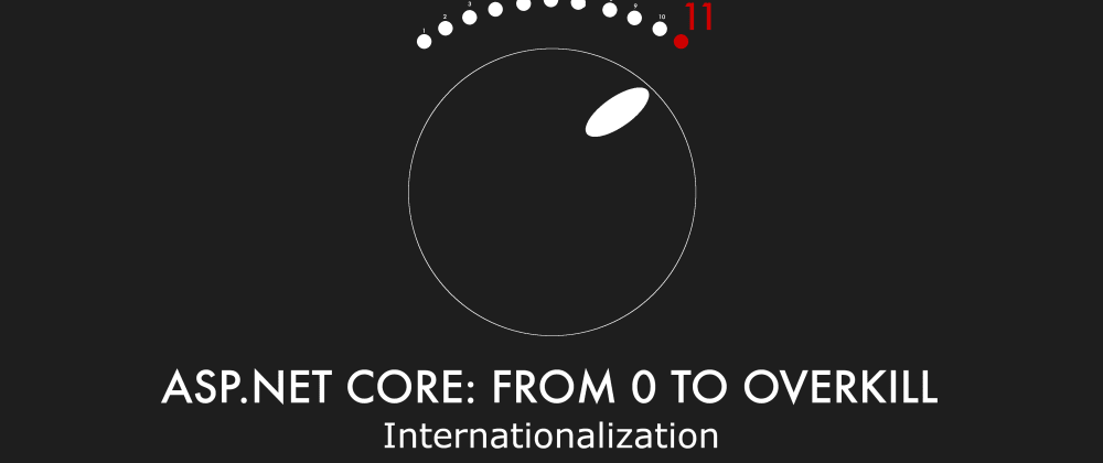 Cover image for Episode 018 - Internationalization - ASP.NET Core: From 0 to overkill
