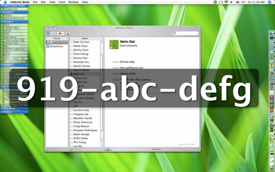 Old OS X Large Type