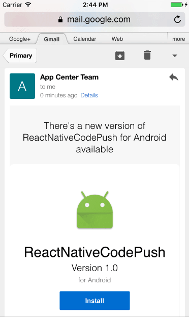 React Native updates with VS App Center CodePush - DEV