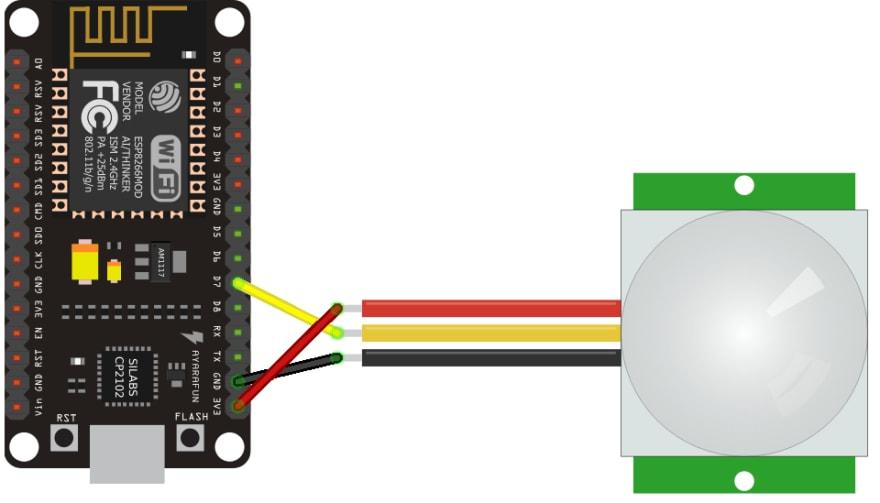 esp8266 wiring schema