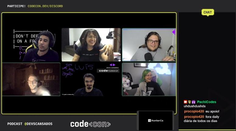 Devs Cansados Podcast live recording