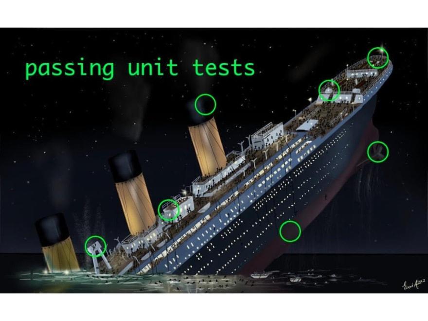 Titanic 80% Code Coverage