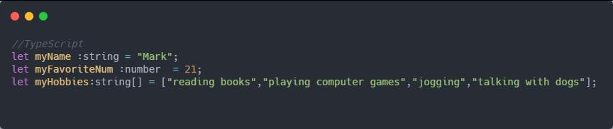 TypeScript Equivalent