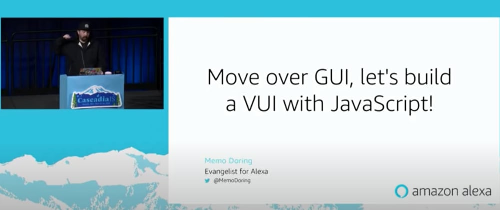 Cover image for #30DaysOfCJS: Move over GUI, let's build a VUI with JavaScript!