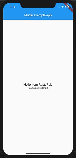 Running Flutter iOS