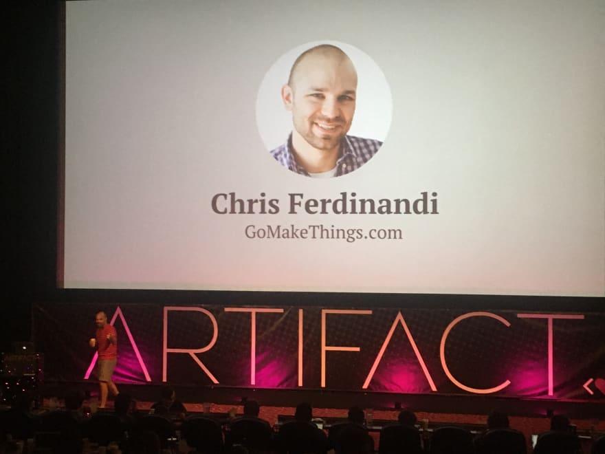 Chris Ferdinandi during his presentation
