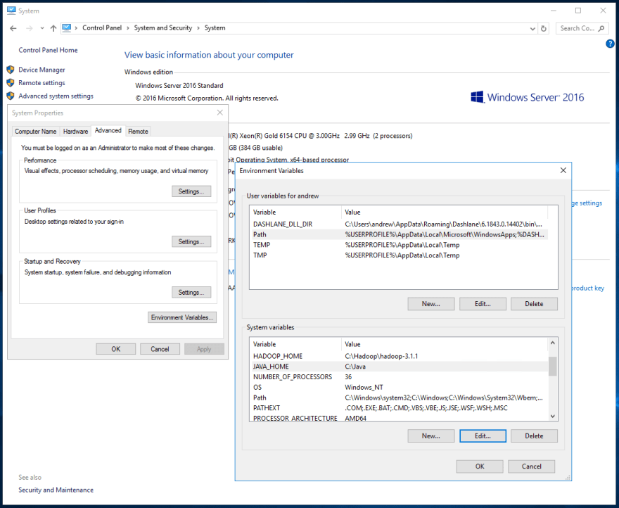 Installing and Running Hadoop and Spark on Windows - DEV Community