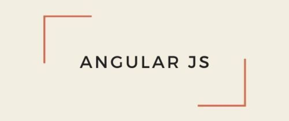 Cover image for Introductory To Angular JS