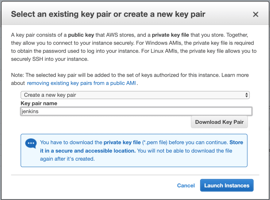 Installing and configuring Jenkins in AWS with SSL - DEV
