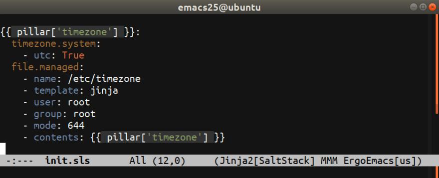 SaltStack mode for Emacs