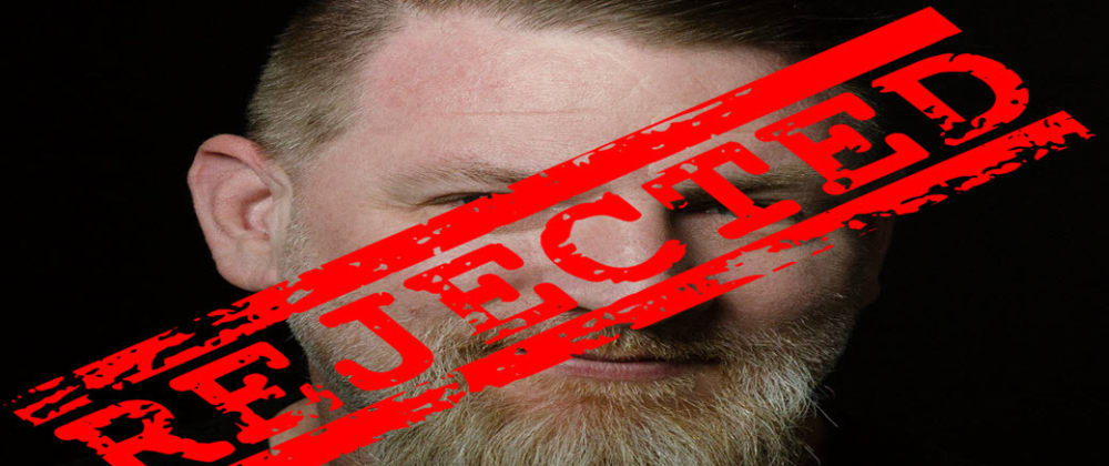 Cover image for Rejected by Facebook