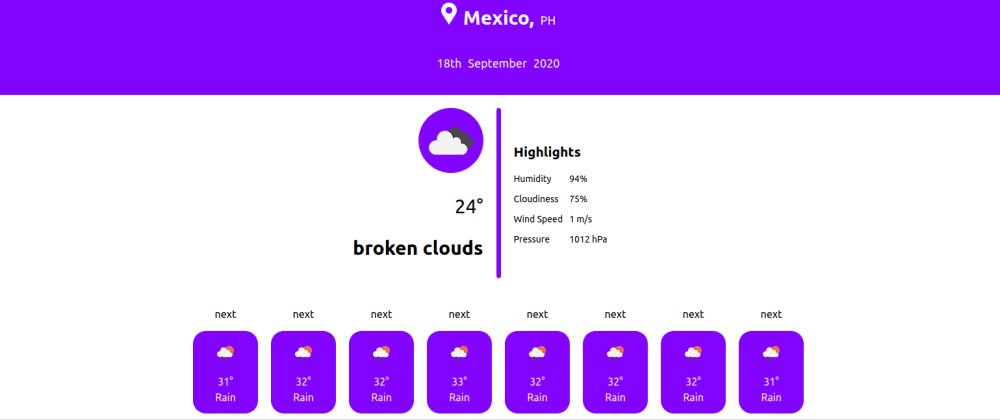 Cover image for Day 63: Fetching Icons from Open weather