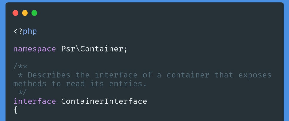 php-create-dependency-injection-container-psr-11-like-php-di-or-pimple-128i