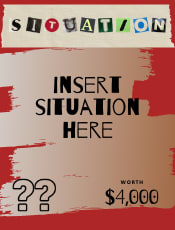 Example situation card