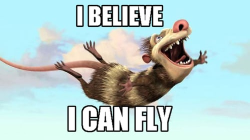 I believe I can fly