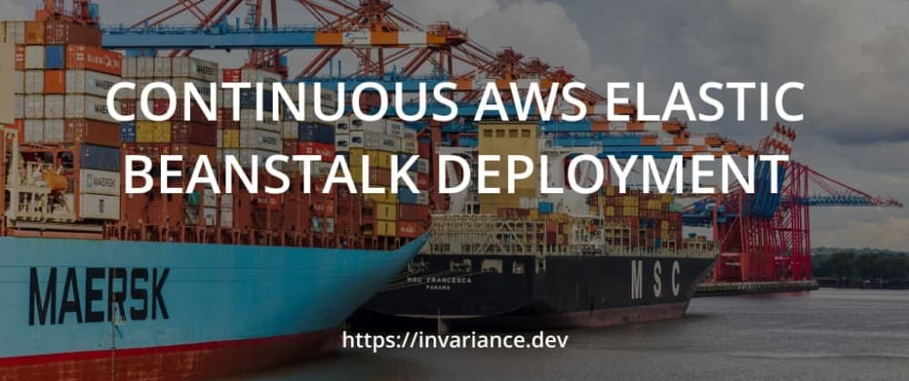 Cover image for Continuous AWS Elastic Beanstalk deployment