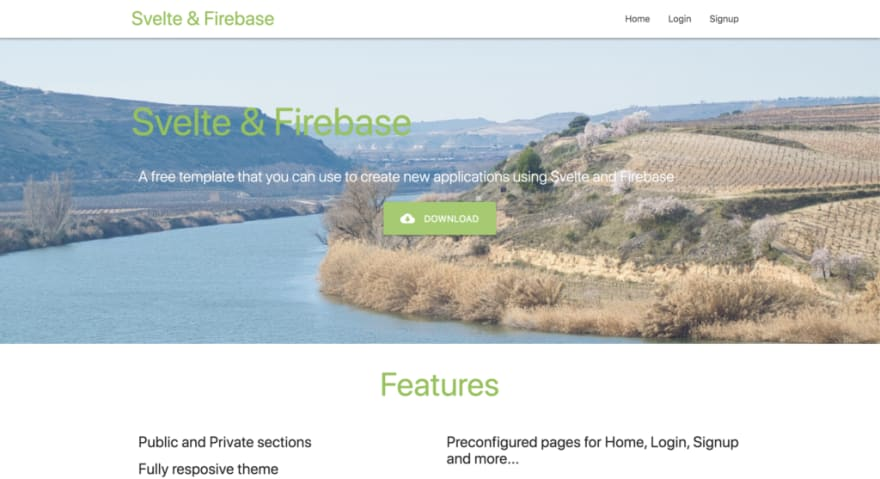 Svelte - Firebase