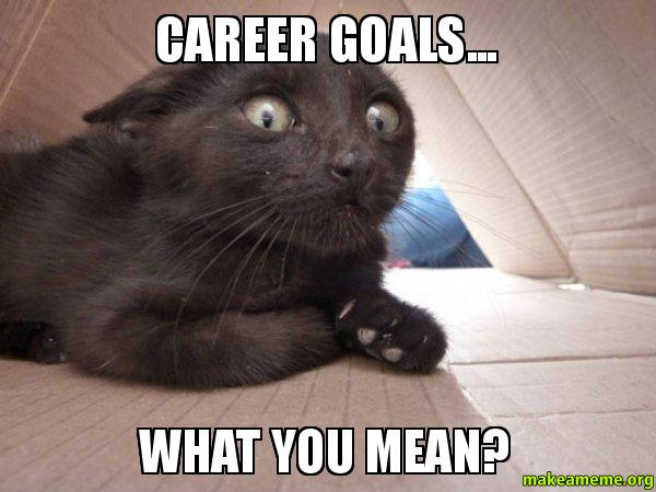 Career goals?