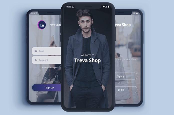 Flutter E-Commerce UI KIT Template in flutter – Treva Shop