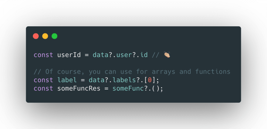 Accessing property values using Optional Chaining
