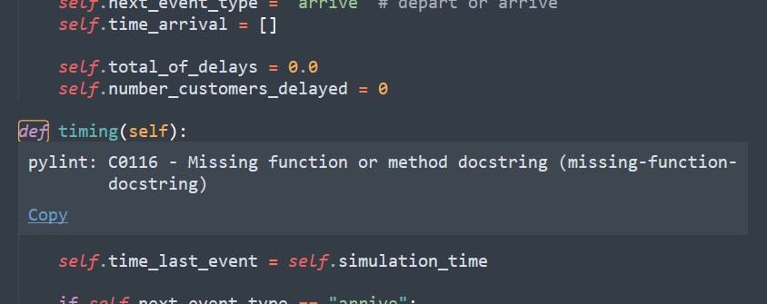 Python Linter Image Example
