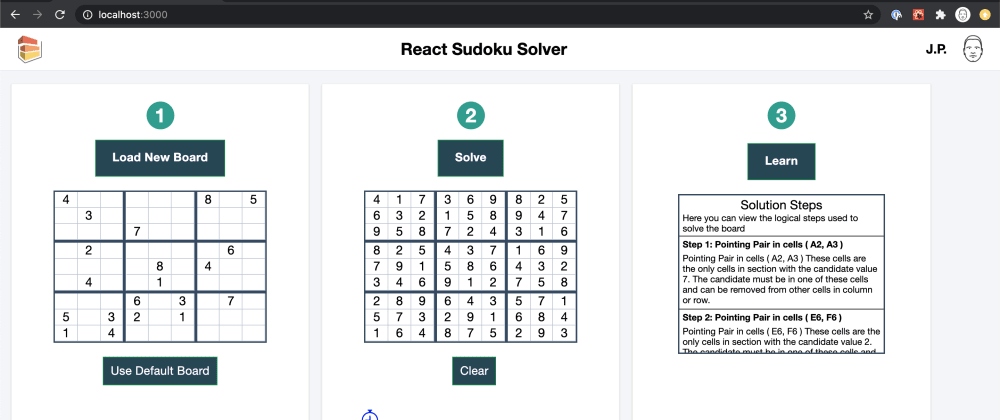 Cover image for Building a React app to solve every Sudoku puzzle.