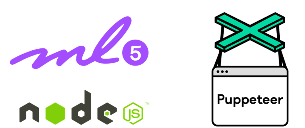 Cover image for  How to use ML5 with Nodejs and puppeteer step by step