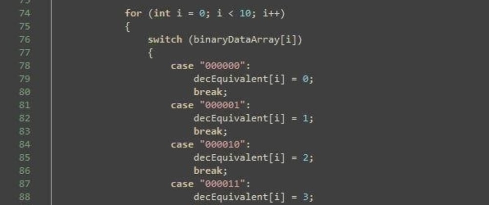 Cover image for What is the weirdest piece of code that you have written and does the job?