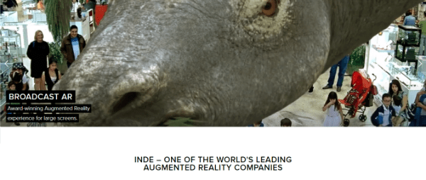INDE-Top Augmented Reality Company