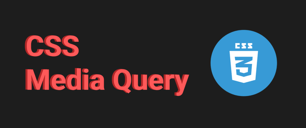 Cover image for CSS media query : how to make website responsive