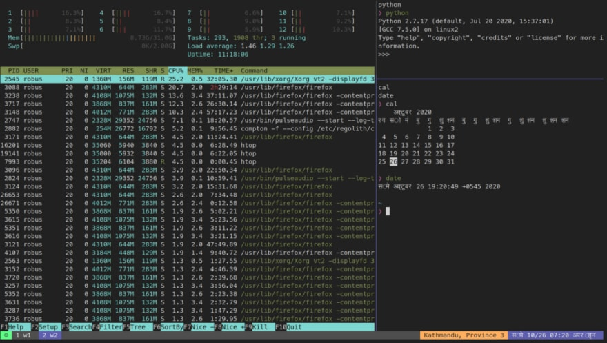 tmux-sample-screenshot