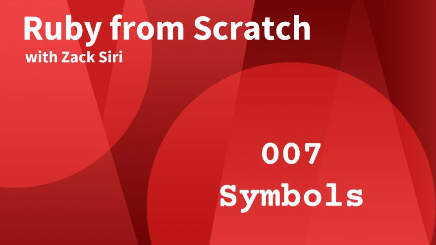 Ruby Symbols
